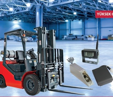 Wireless Forklift Kamera Sistemleri