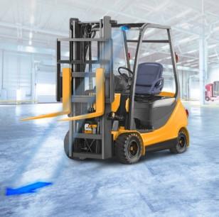 Forklift ve Yaya İkaz İşaret Lambası (OK)