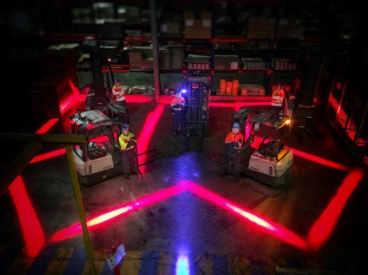 Forklift Güvenlik Işığı